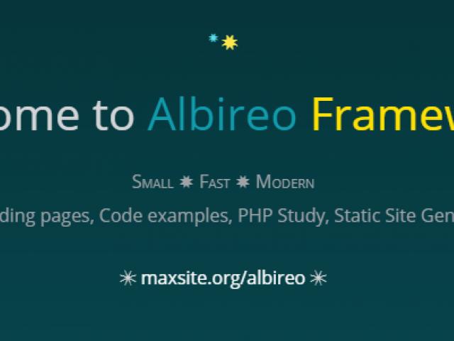 Albireo Framework